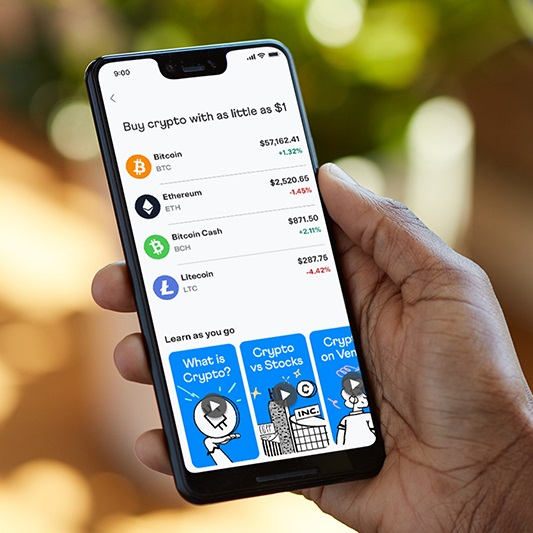 Customers can now buy, hold and sell cryptocurrency directly within the Venmo app with as little as $1
